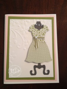 Donna's Peplum Dress