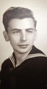 Dad in Navy