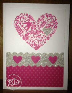 SU glitter valentine