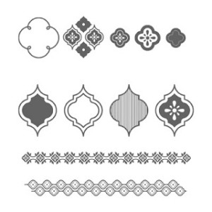 Mosaic Madness                         Clear, #130249   $18.95                                Wood, #130246  $26.95