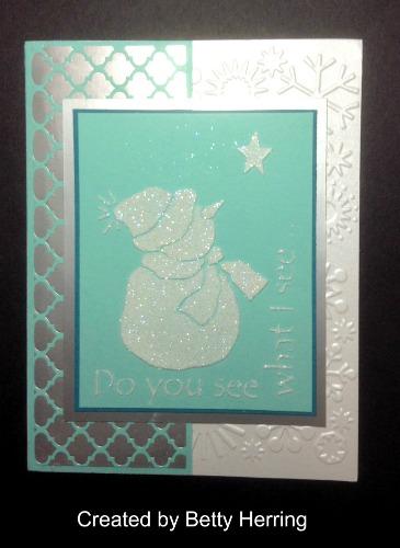 Betty's card