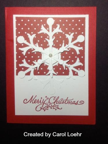 Carol L's card