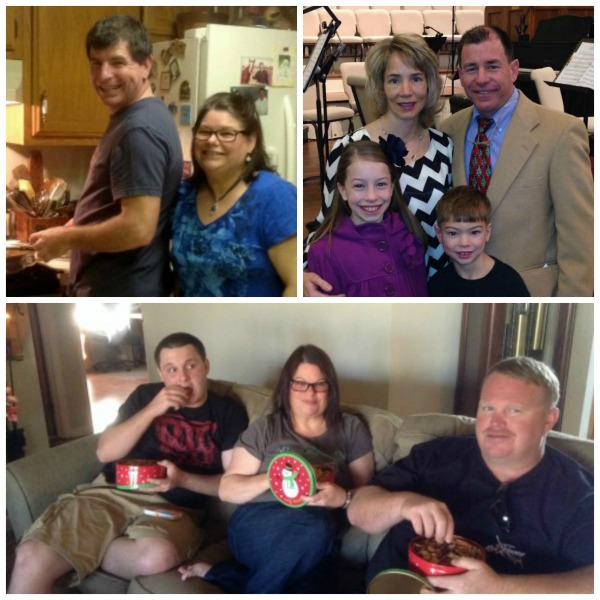 Family Christmas Collage