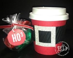 Santa coffee Cup