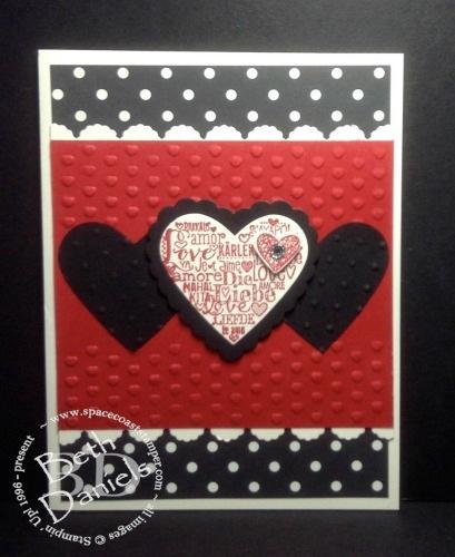 Red:Blk valentine