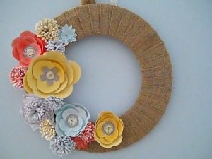 blooms wreath