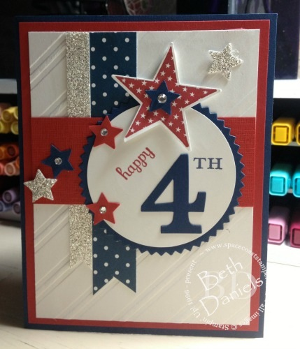 Happy 4th Of July Card