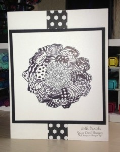 My zentangle 2