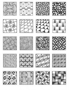 zintangle patterns