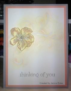 Janice's Card