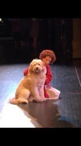 Sofia as Annie