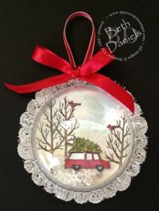 Christmas SU Ornament