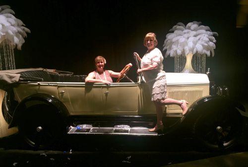 Sandy & I car