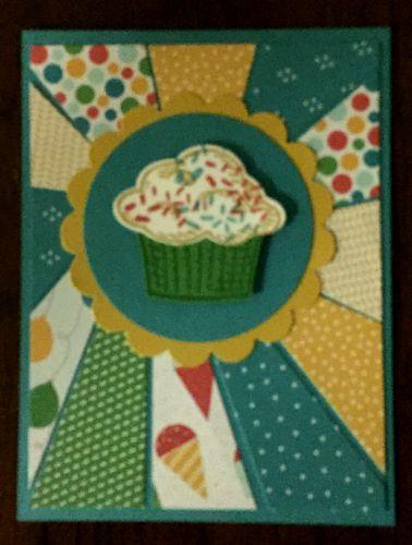 starburst cupcake