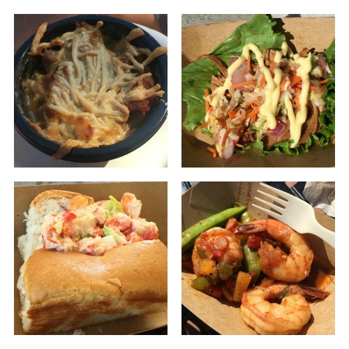 Epcot food Collage