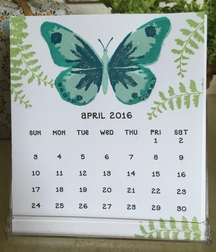 CD Calendar April '16