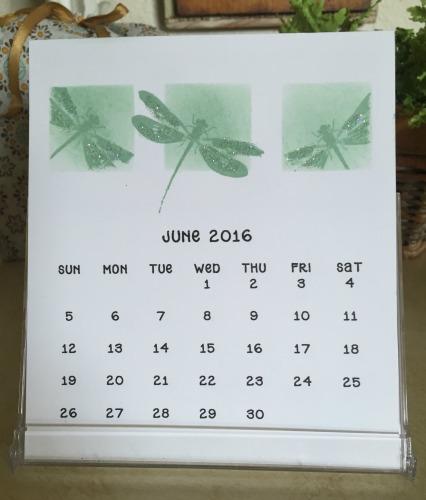 CD Calendar  June '16