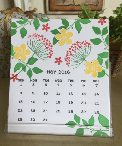 CD Calendar May 16