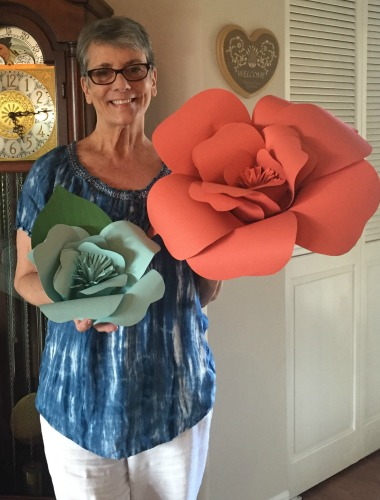 paper flowers donna