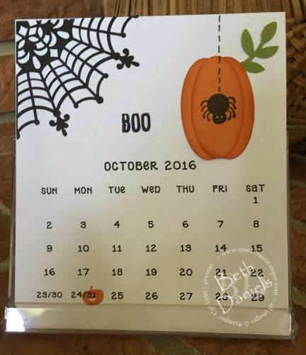 CD Calendar Oct. 2016